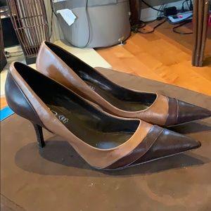 Aldo size 38 brown heels - super cute!